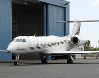 Geschäftsflugzeug Stockfotografie
