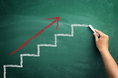 Geschäftsfortschritt Stockbilder