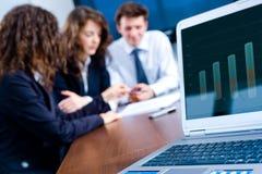 Geschäftsfortschritt Lizenzfreies Stockfoto