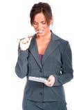 Geschäftsfrau lizenzfreie stockfotografie