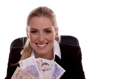 Geschäftsfrau. Stockfotografie