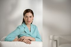 Geschäftsfrau. lizenzfreies stockfoto