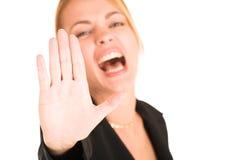 Geschäftsfrau #244 Lizenzfreies Stockbild