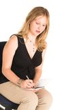 Geschäftsfrau #504 Lizenzfreies Stockbild