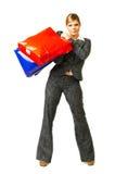 Geschäftsfrau 6 lizenzfreie stockfotos