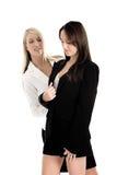 Geschäftsfrau in den Klagen Lizenzfreies Stockfoto