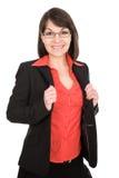 Geschäftsfrau getrennt stockbild