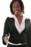 Geschäftsfrau-Händedruck Lizenzfreie Stockbilder