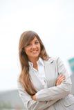 Geschäftsfrau headshot Lizenzfreie Stockfotos