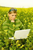 Geschäftsfrau im Freien Lizenzfreie Stockfotografie