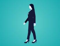 Geschäftsfrau im Isolathintergrund Lizenzfreie Stockbilder