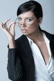 Geschäftsfrau (Kalt-Ver) Lizenzfreies Stockbild