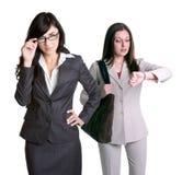 Geschäftsfrau-Mitarbeiter Lizenzfreies Stockbild