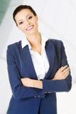 Geschäftsfrau oder Student in der eleganten Kleidung Lizenzfreies Stockbild