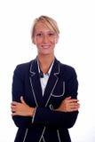 Geschäftsfrau-Portrait lizenzfreie stockfotografie