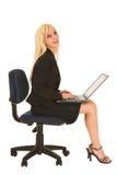 Geschäftsfrau in schwarzem #134 Stockfotos