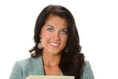 Geschäftsfrau Smiling Stockfotografie