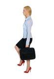 Geschäftsfrau steigern Lizenzfreie Stockbilder