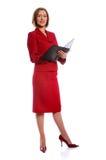Geschäftsfrau-Stellung Lizenzfreies Stockfoto