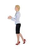Geschäftsfrau tragen etwas Lizenzfreies Stockbild