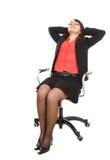 Geschäftsfrau trennte Lizenzfreie Stockfotos