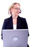 Geschäftsfrau - UnternehmensSpoksewoman Stockbilder