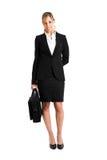 Geschäftsfrau in voller Länge Lizenzfreies Stockfoto