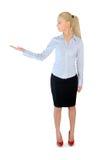 Geschäftsfraudarstellen Stockbilder