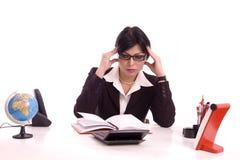 Geschäftsfraudenken Lizenzfreies Stockfoto