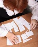 Geschäftsfraudruck Lizenzfreies Stockfoto