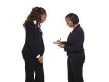 Geschäftsfrauen - Übersicht Stockfoto