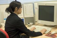 Geschäftsfraufunktion Stockfotos