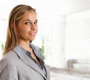 Geschäftsfrauporträt Lizenzfreie Stockfotos