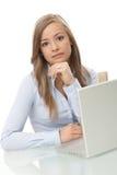 Geschäftsfrauporträt Stockbild