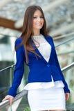 Geschäftsfrauporträt lizenzfreie stockbilder