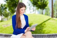 Geschäftsfrauporträt lizenzfreie stockfotografie