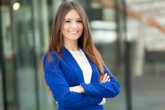 Geschäftsfrauporträt stockfotografie
