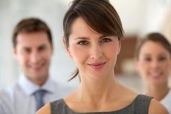 Geschäftsfrauportrait Stockfotos