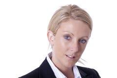 Geschäftsfrauportrait Lizenzfreie Stockfotos