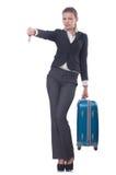 Geschäftsfraureisen Lizenzfreies Stockfoto