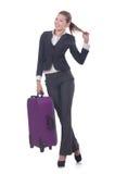Geschäftsfraureisen Lizenzfreie Stockfotografie