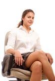Geschäftsfraustuhl Lizenzfreies Stockfoto