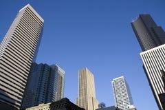 Geschäftsgebäude der Industrieimmobilien Stockbilder