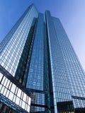 Geschäftsgebäude im Finanzbezirk von Frankfurt, Deutschland Lizenzfreie Stockfotografie