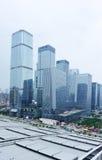 Geschäftsgebäude in Shenzhen Stockbild