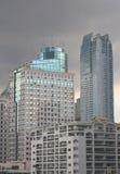 Geschäftsgebiet-Skyline Stockfotos