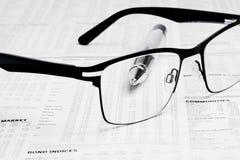 Geschäftsgegenstände lizenzfreie stockfotos