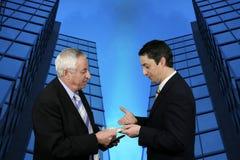 Geschäftsgespräch lizenzfreie stockfotografie
