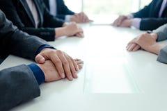 Geschäftsgespräche Stockfoto