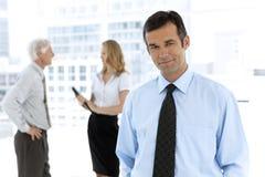 Geschäftsgespräche Stockbild